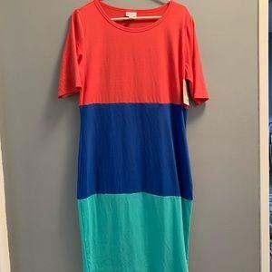 NWT Lularoe Julia Dress size Large